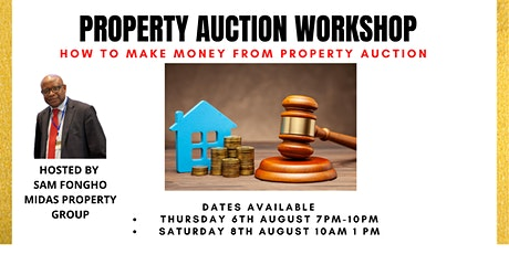 Property  Auctions Workshop - Presented by Midas Property Group tickets