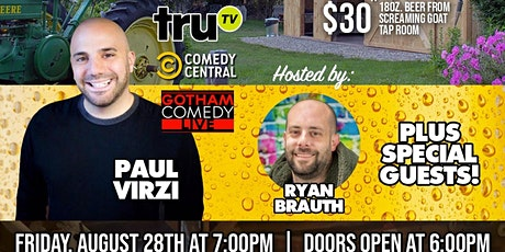 Silly Jokes and Screaming Goats with Paul Virzi tickets