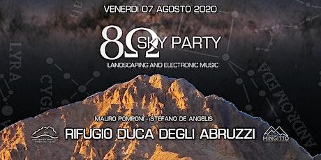 8 ohm sky party biglietti