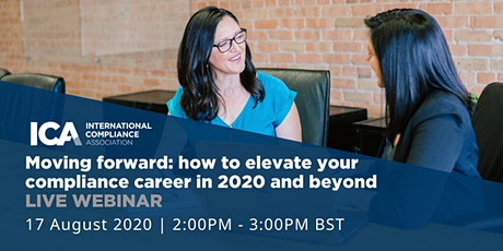 Moving forward: how to elevate your compliance career in 2020 and beyond tickets
