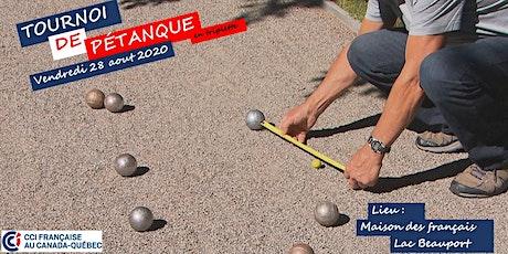 Tournoi de pétanque - Édition 2020 tickets