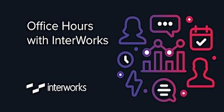 InterWorks Office Hours DE 4th. September 2020 tickets