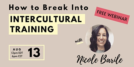 How to Break Into Intercultural Training tickets