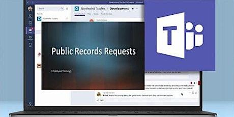 Virtual Mandatory Training: Public Records Requests tickets
