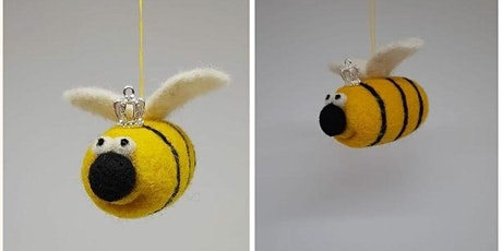 Needle Felting Queen Bee tickets
