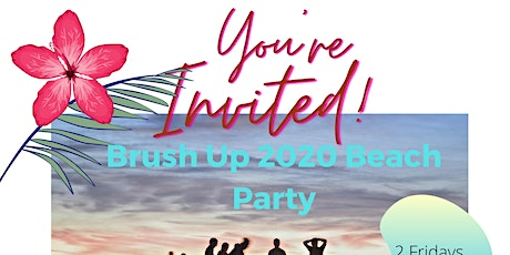 Beachparty Brush Up tickets