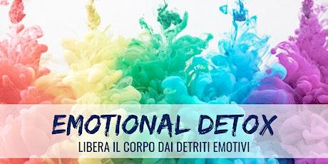 EMOTIONAL DETOX - Attivazione biglietti