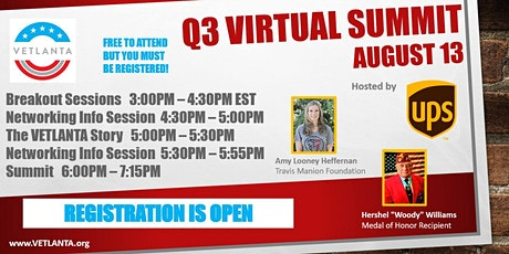 VETLANTA Q3  Virtual Summit tickets