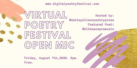 Poetry Virtual Happy Hour and Open Mic tickets