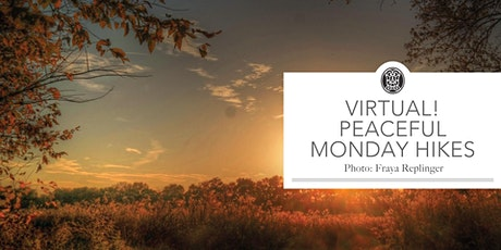 Virtual! Peaceful Monday Hikes tickets
