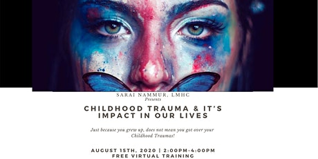 CHILDHOOD TRAUMA & ITS IMPACT ON OUR LIVES |FREE Webinar Training tickets