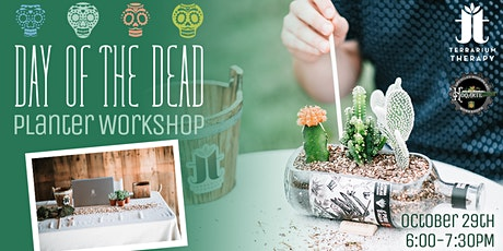 Virtual Workshop - Day of the Dead Planter tickets