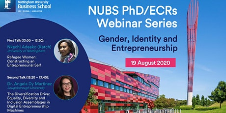 NUBS PhD/ECRs Webinar Series- Webinar 2 tickets