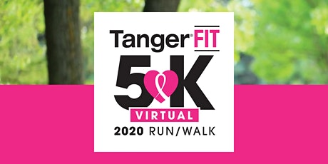 2nd Annual TangerFIT 5K Run/Walk - VIRTUAL 5k- Foxwoods, CT tickets