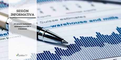 Sesión Informativa: Grado Superior Administración y Finanzas entradas