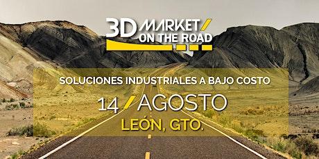 3D MARKET ON THE ROAD, AHORA EN LEÓN!! tickets