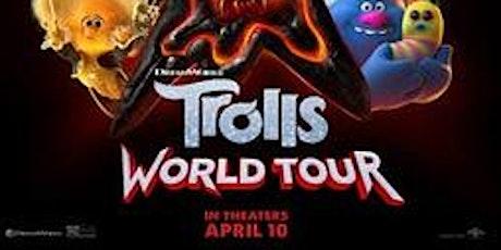 Trolls World Tour Drive In tickets