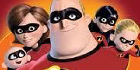 The Incredibles tickets