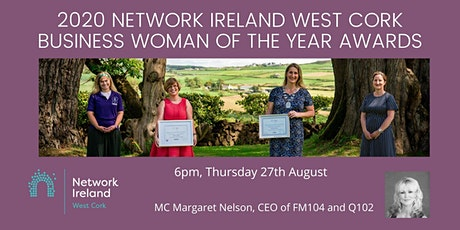 2020  Network Ireland West Cork Business Women of the Year Awards tickets