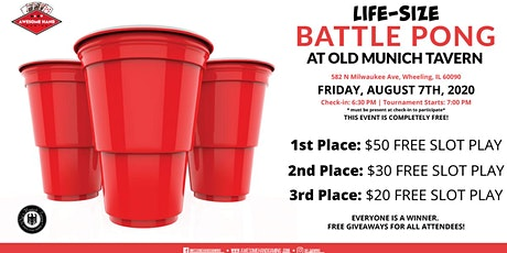 Life-Sized Battle Pong at Old Munich tickets