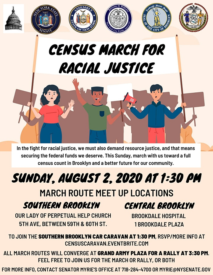 Census Caravan: Ride with us through South Brooklyn to Get Out The Count image