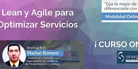 Lean y Agile para Optimizar Servicios + Certificación LSPC entradas