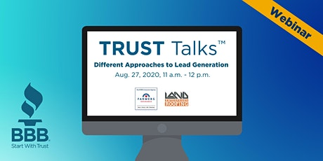 TRUST Talks ™  - Different Approaches to Lead Generation for Business biglietti