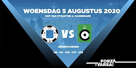 KFC Varsenare - Cercle Brugge KSV - Oefenwedstrijden Jeugd tickets