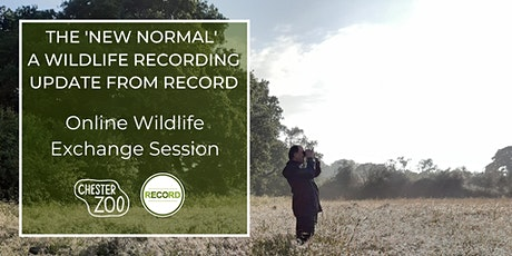 The 'New Normal': A wildlife recording update from RECORD (online talk) tickets