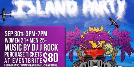 Island Party tickets