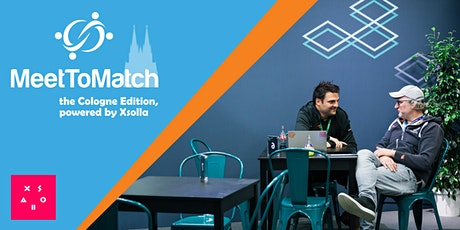 MeetToMatch - The Online Cologne Edition 2020, powered by Xsolla Tickets