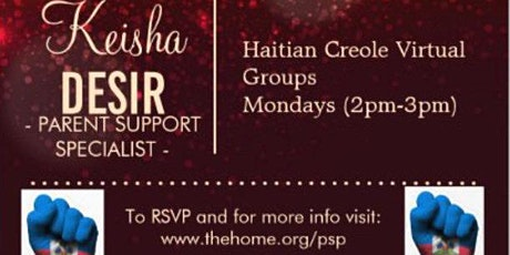 Haitian Creole Parent Support Group tickets