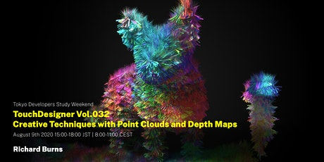 TouchDesigner Vol.032 Creative Techniques with Point Clouds and Depth Maps tickets