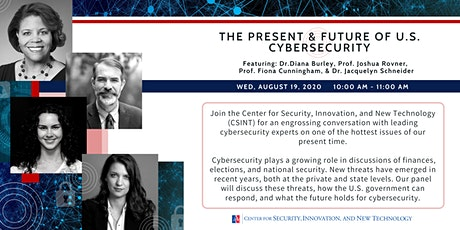 The Present and Future of U.S. Cybersecurity tickets