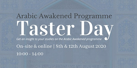Arabic Awakened Programme Taster Day tickets