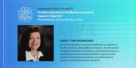 LIVE: Product Launches in the Biopharmaceutical Industry Take Grit tickets