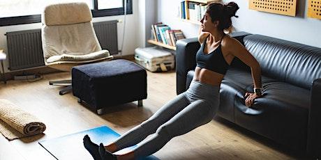 Live Virtual Wellness: Upper Body + Cardio with Jarratt Rouse tickets