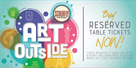 Art Outside 2020 - Social Distance Lot Party tickets