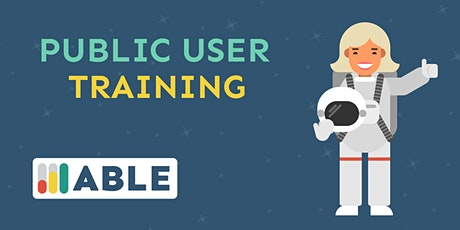 ABLE 2.0 Public Training tickets