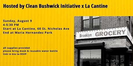 Bushwick Sunday Street Cleanup tickets