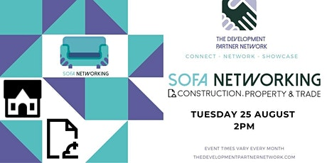 Construction, Property & Trade Sofa Networking tickets