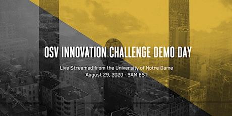 OSV Innovation Challenge Demo Day Livestream tickets