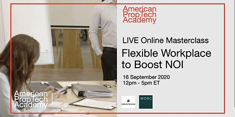 Flexible Workplace to Boost NOI Online Masterclass tickets