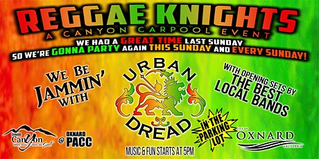 Reggae Knights with Urban Dread and Special Guests - Drive In Concert tickets