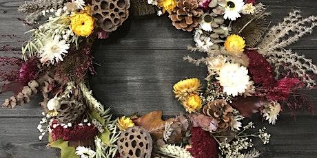 Autumnal Dried Wreath tickets