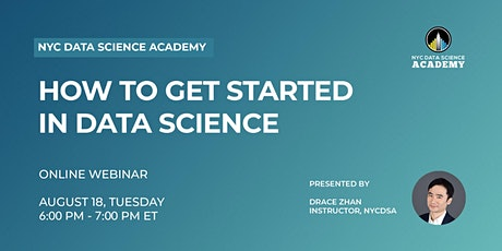How to Get Started in Data Science tickets