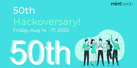 Mintbean Hackathons: 50th  Hackoversary! tickets