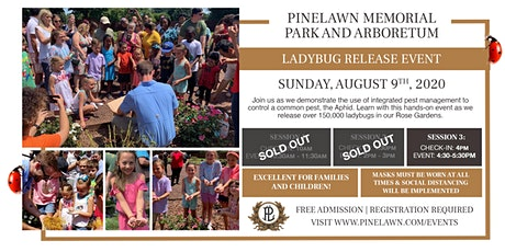 Pinelawn Memorial Park 3rd Annual Ladybug Release tickets