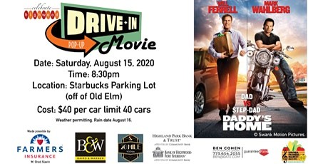 CELEBRATE HIGHWOOD HOSTS SECOND POP-UP DRIVE-IN MOVIE NIGHTS AUGUST 15 tickets