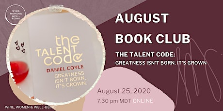 August Book Club: The Talent Code tickets